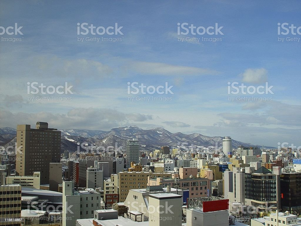 Sapporo, Japan stock photo