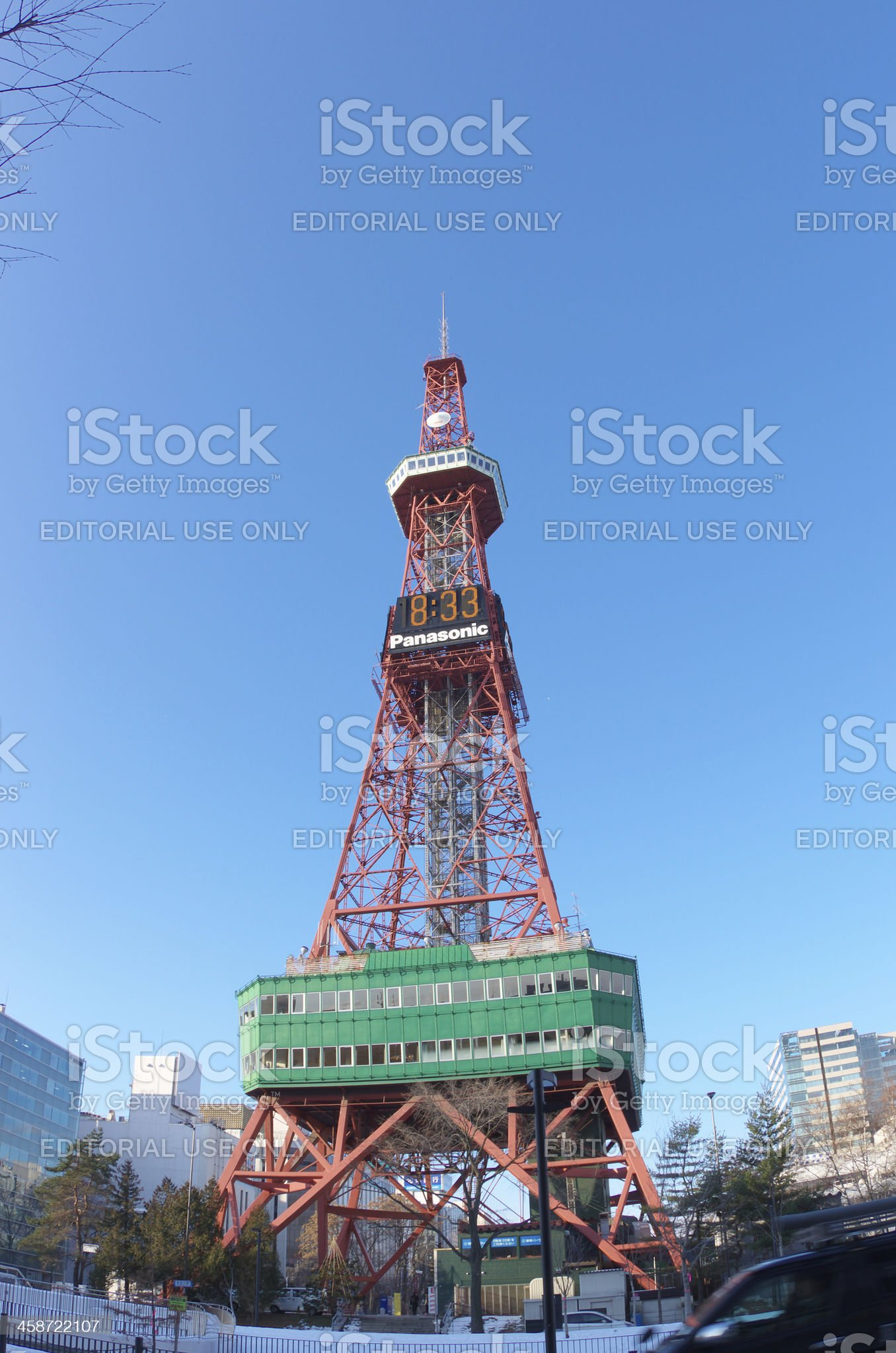 Sapporo TV Tower royalty-free stock photo
