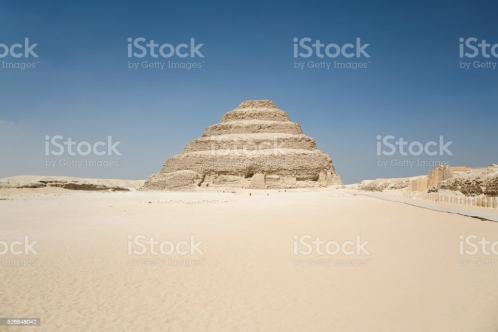 Saqqara Djoser Pyramid stock photo