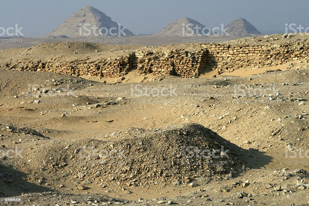 Saqqara stock photo