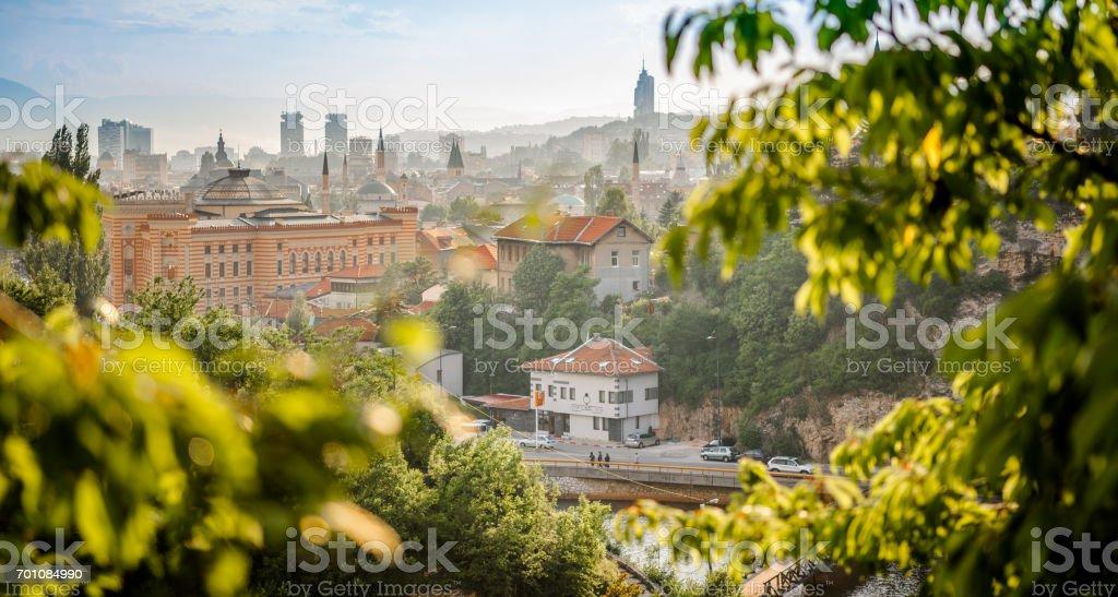 Sarajevo stock photo