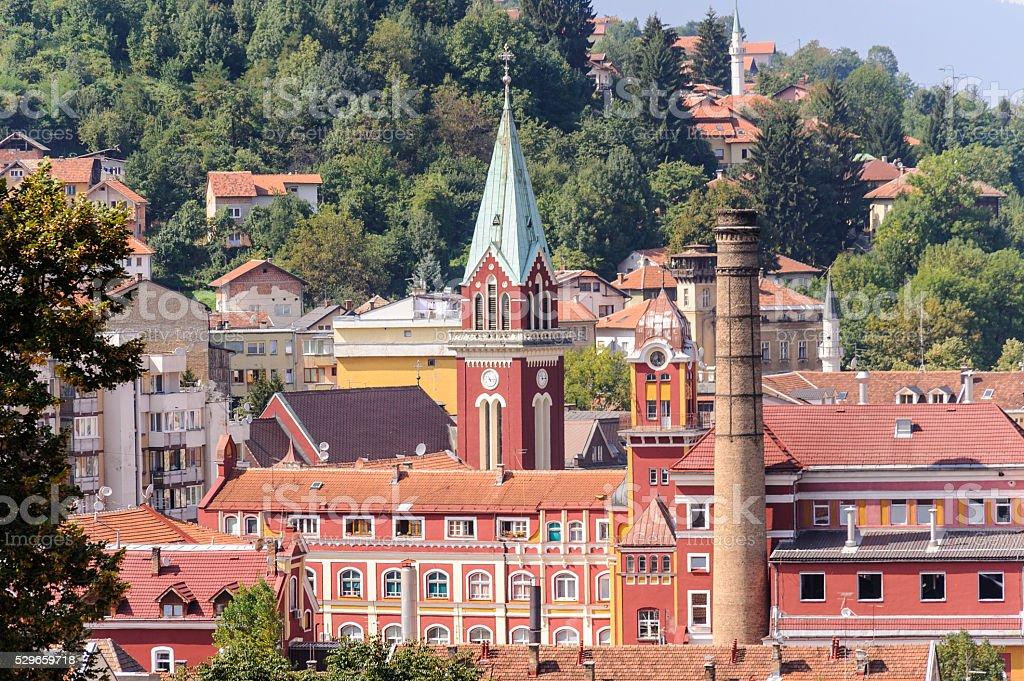 Sarajevska Pivara brewery stock photo