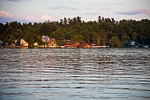 Saranac Lake Summer Sunset