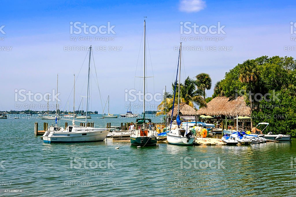 Sarasota Bay in SW Florida stock photo