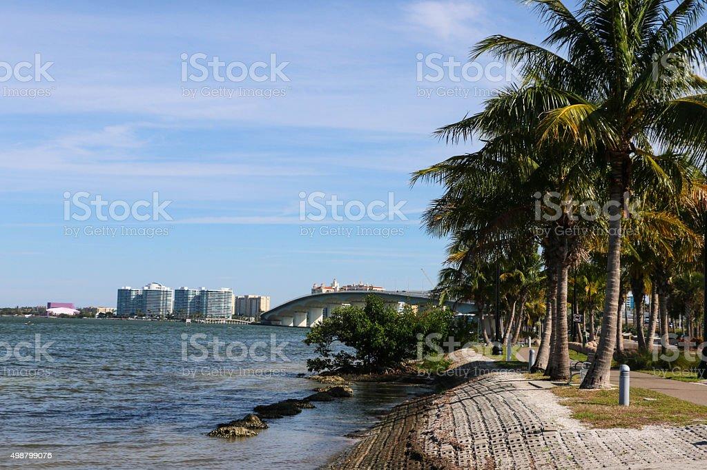 Sarasota Bay stock photo