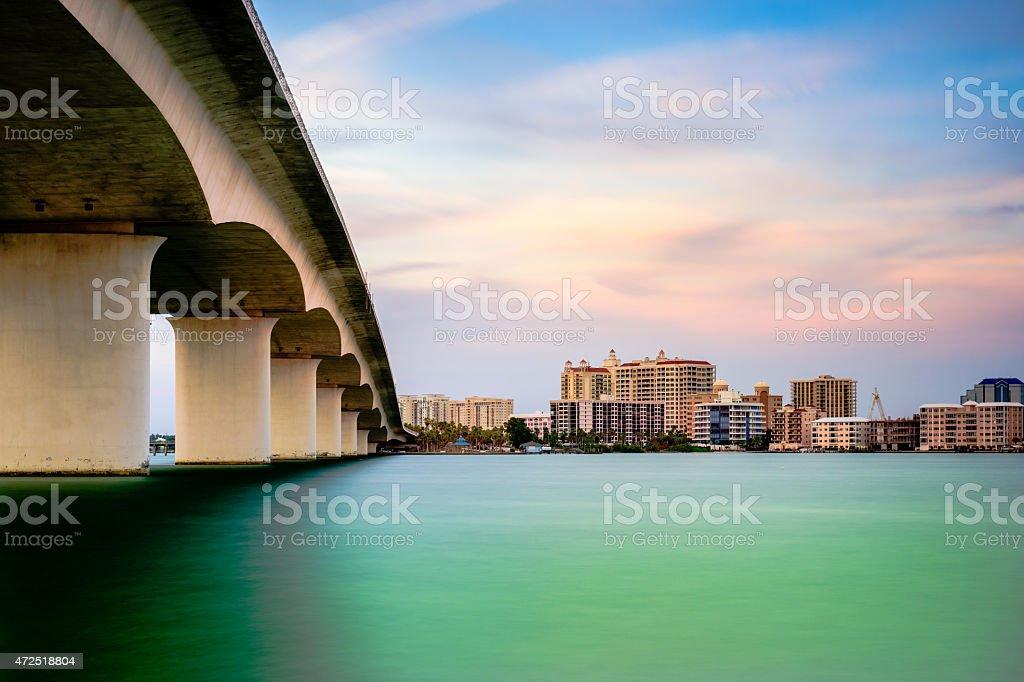 Sarasota Florida stock photo