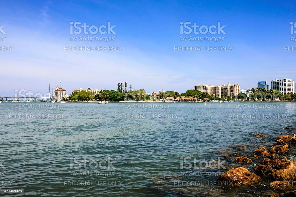 Sarasota in SW Florida stock photo
