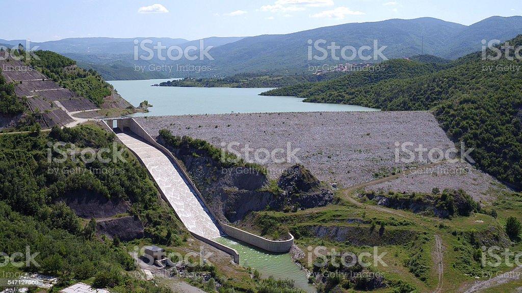 Saraydüzü Dam Sinop,TURKIYE stock photo