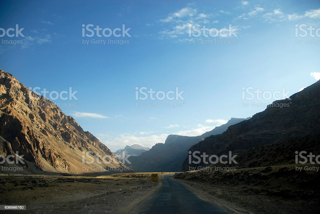 sarchu stock photo