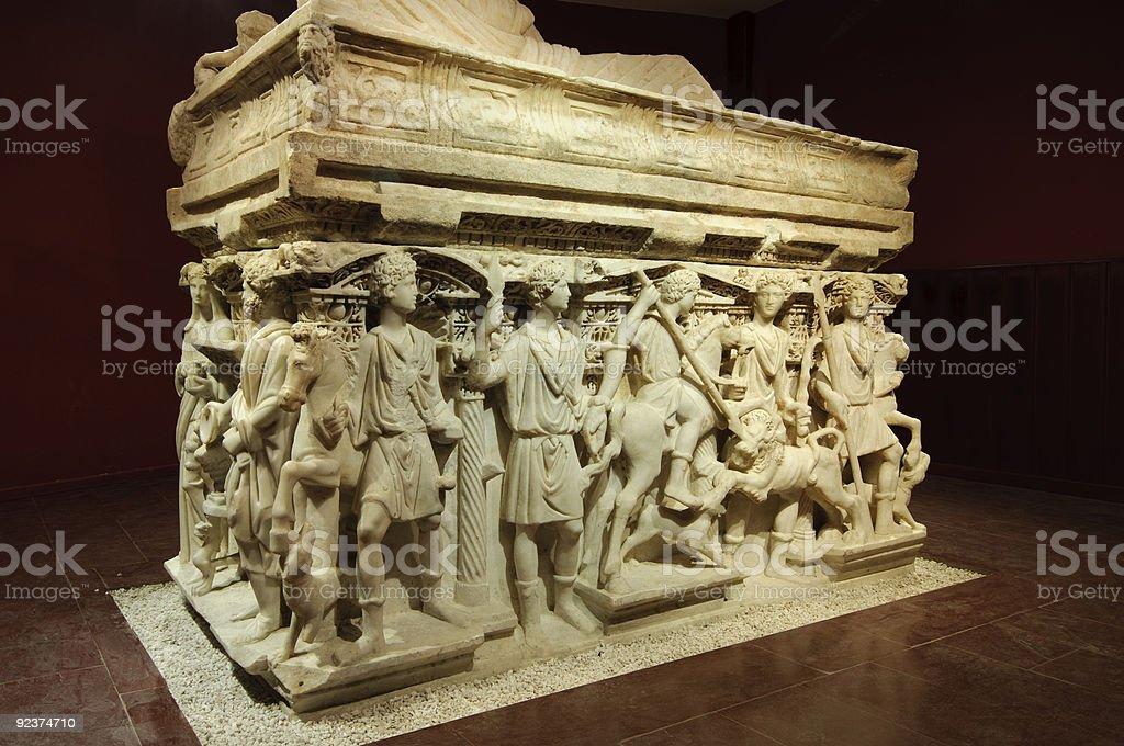 Sarcophagus of Antakya stock photo