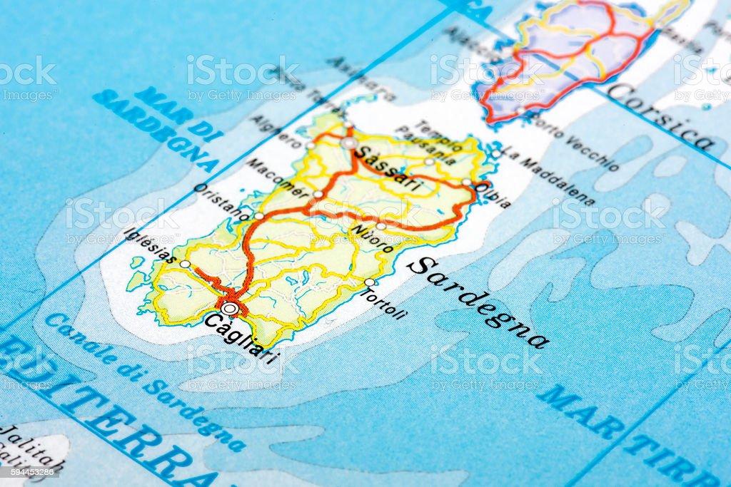 Sardegna, Italy stock photo