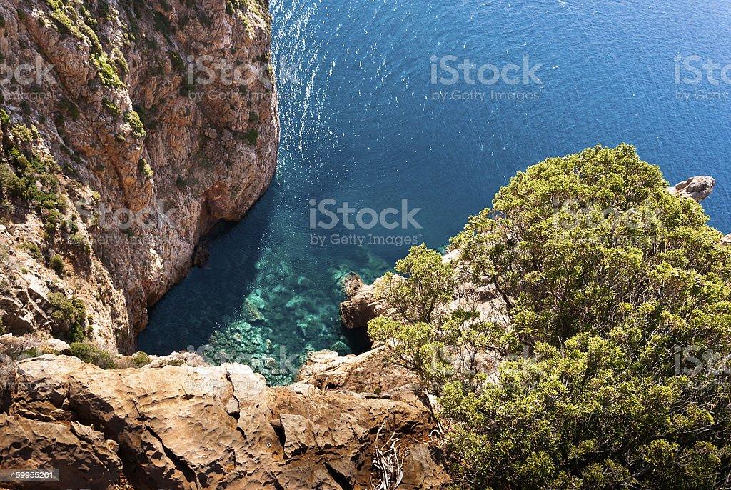 Sardegna, Sulcis Reef stock photo