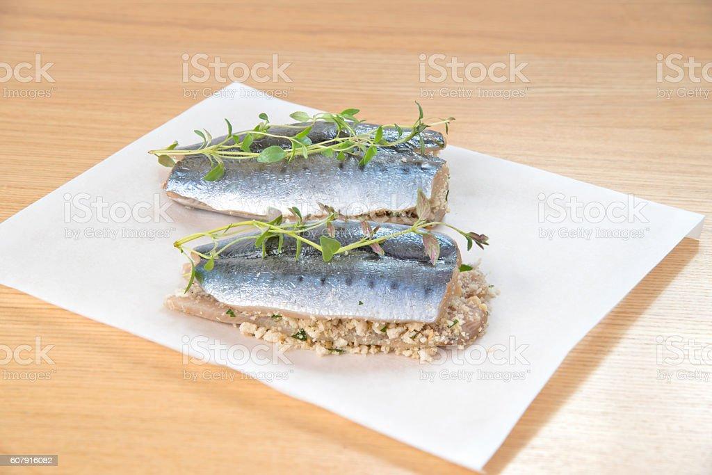 sardines fish stock photo