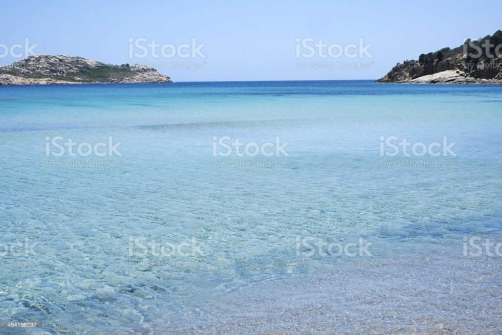 Sardinia sea stock photo