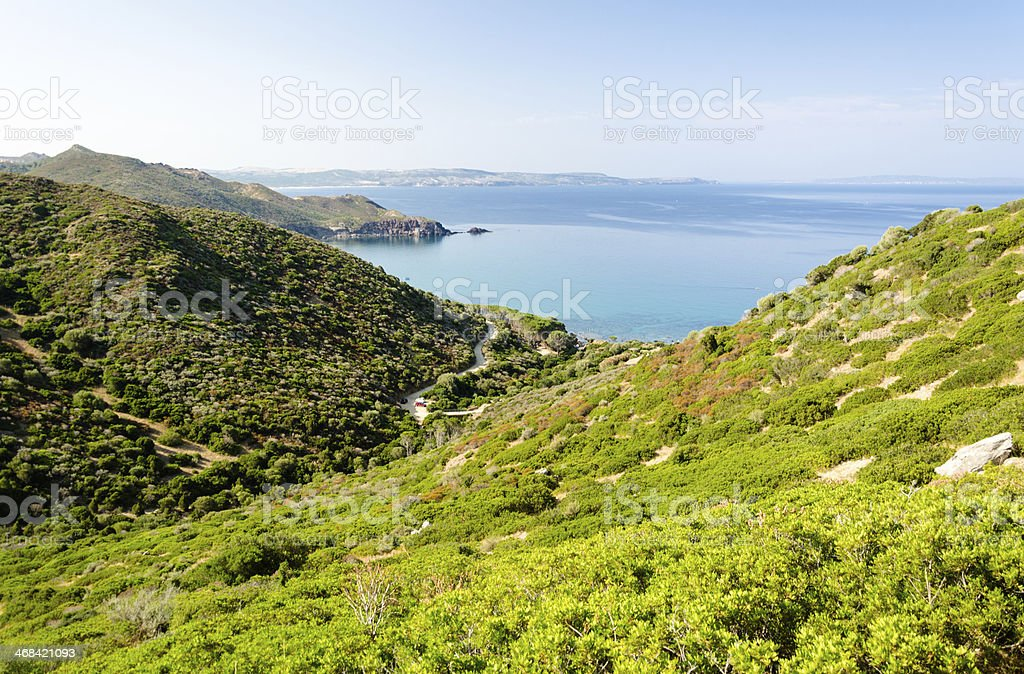 Sardegna, Sulcis coast stock photo