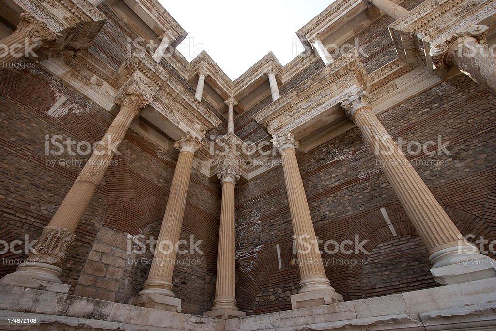 sardis in Turkey's Manisa royalty-free stock photo