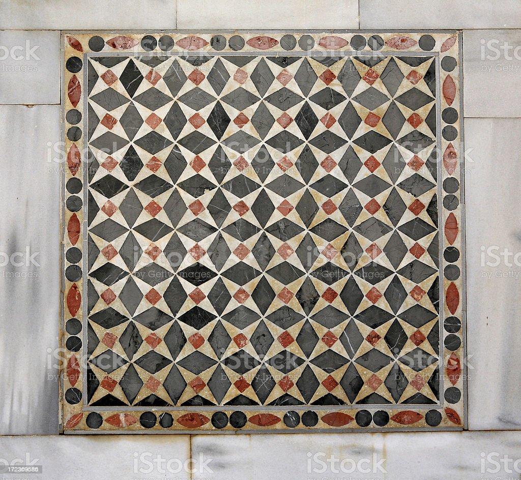 Sardis - Turkey ' The amazing mosaics ' stock photo