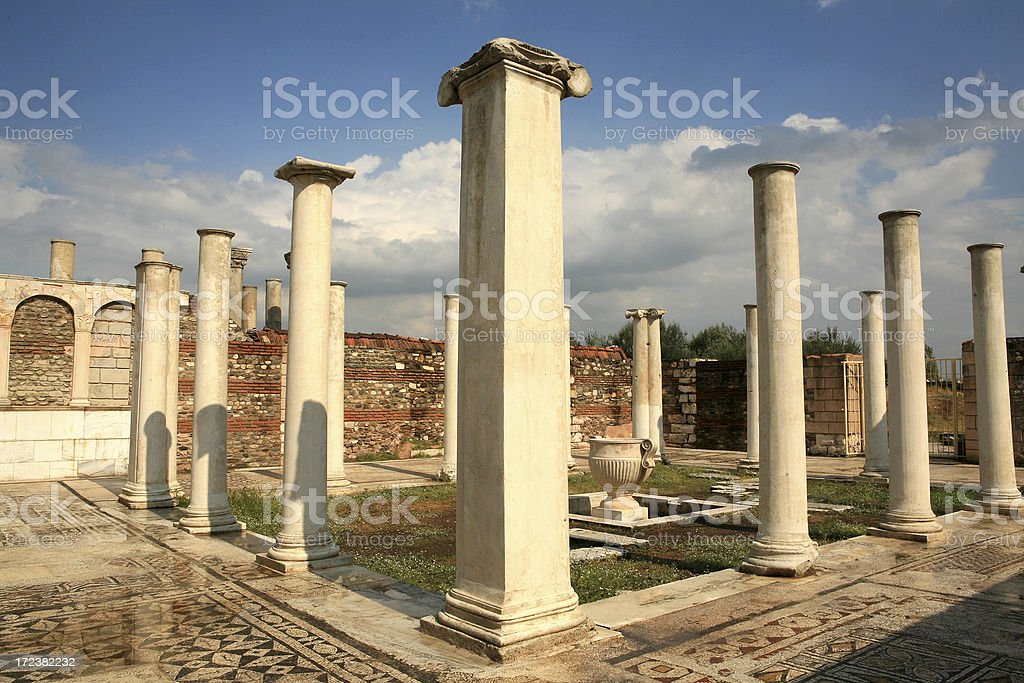 Sardis - Turkey ' The Synagogue ' stock photo