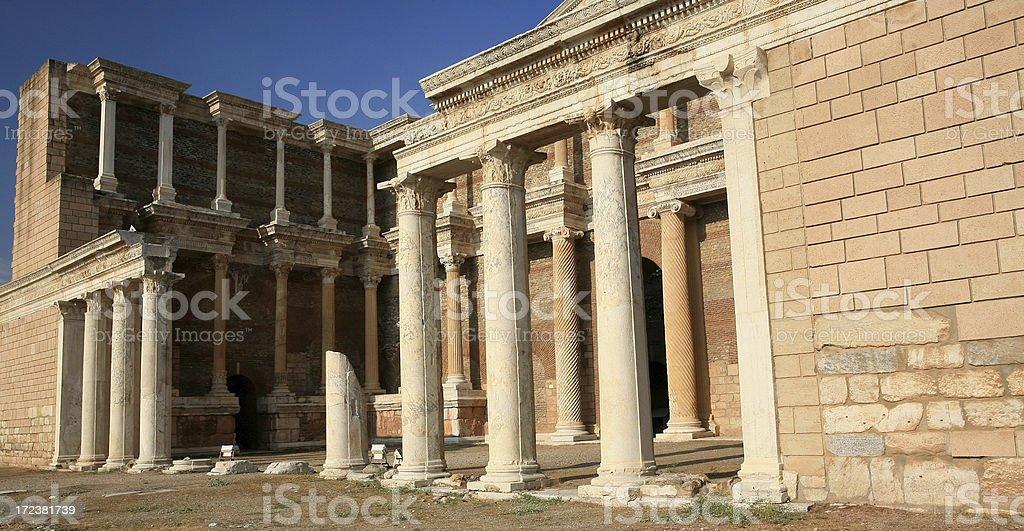 Sardis-Turkey ' The Huge Gymnasium ' stock photo
