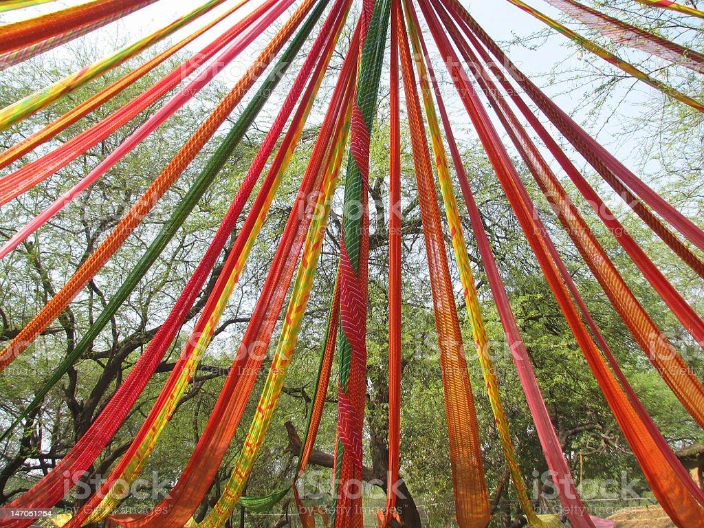 Saree Decoration royalty-free stock photo