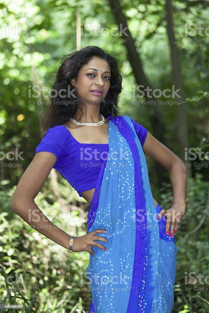 saree royalty-free stock photo