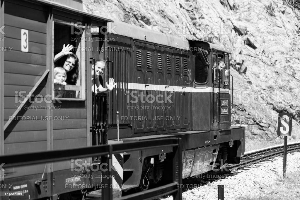 Sargan Eight Train stock photo