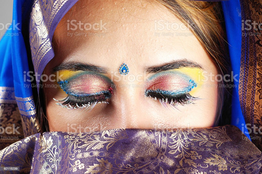 Sari Dreams stock photo