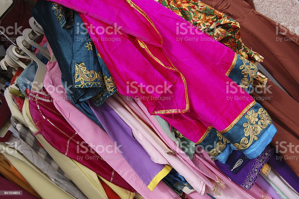 Sari Sale royalty-free stock photo