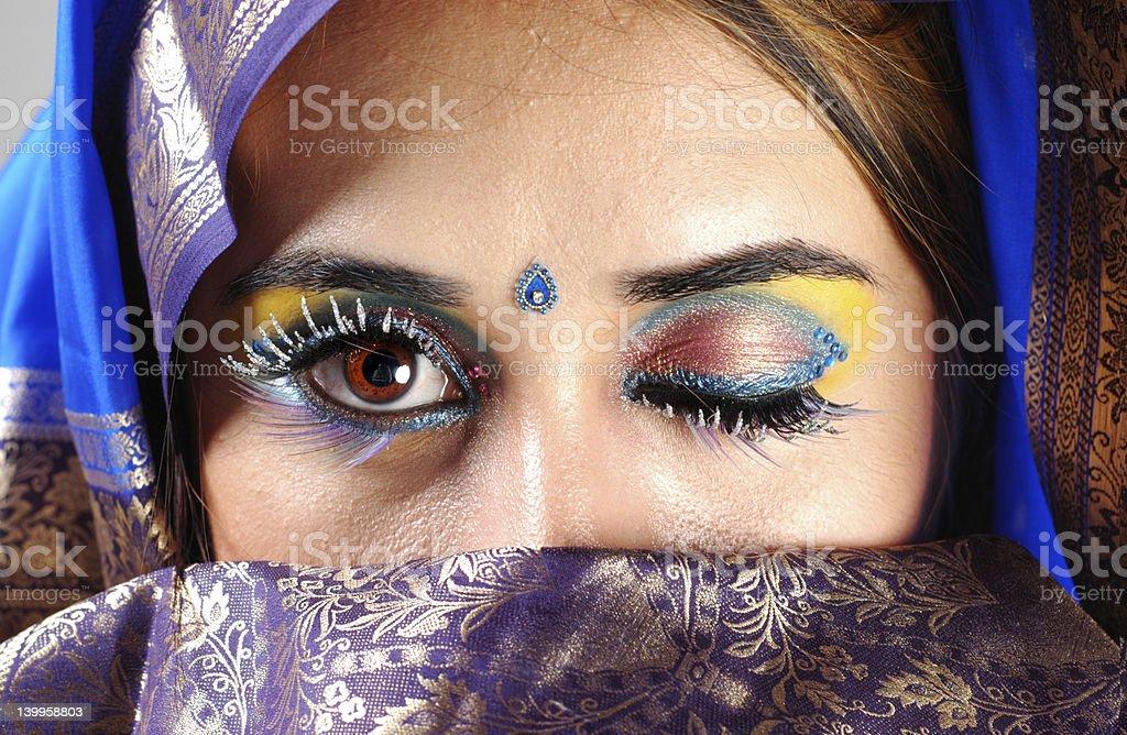 Sari Secrets royalty-free stock photo