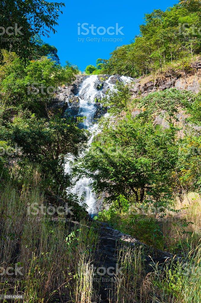 Sarika waterfall royalty-free stock photo