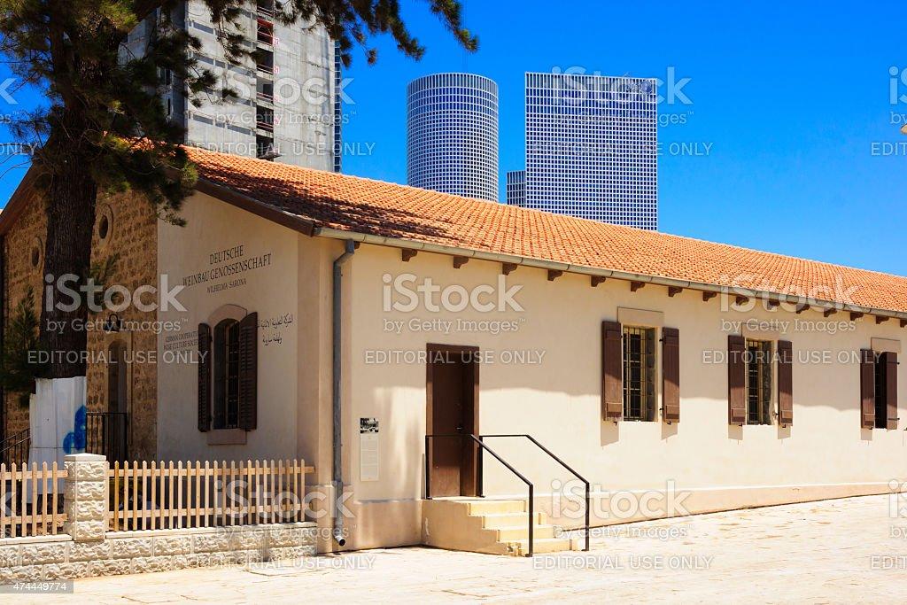 Sarona Compound, Tel-Aviv stock photo