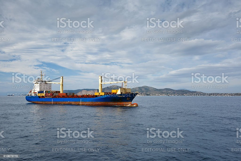 Saronic Gulf. stock photo