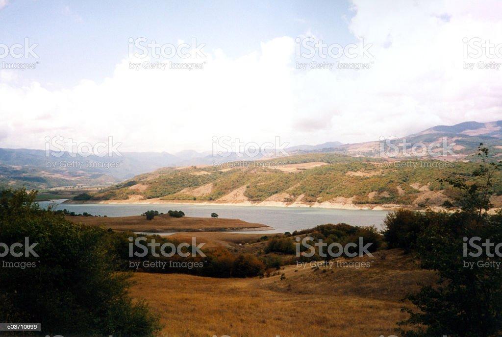 Sarsang reservoir, Nagorno-Karabakh stock photo