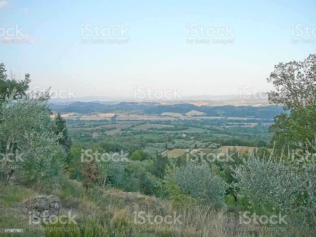 Sarteano, Italy stock photo