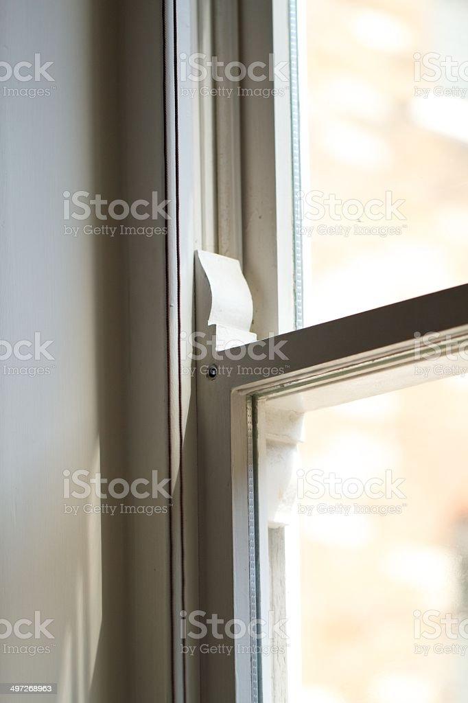 Sash Window royalty-free stock photo