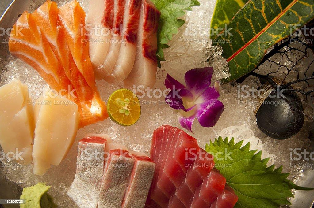 Sashimi Assortment royalty-free stock photo