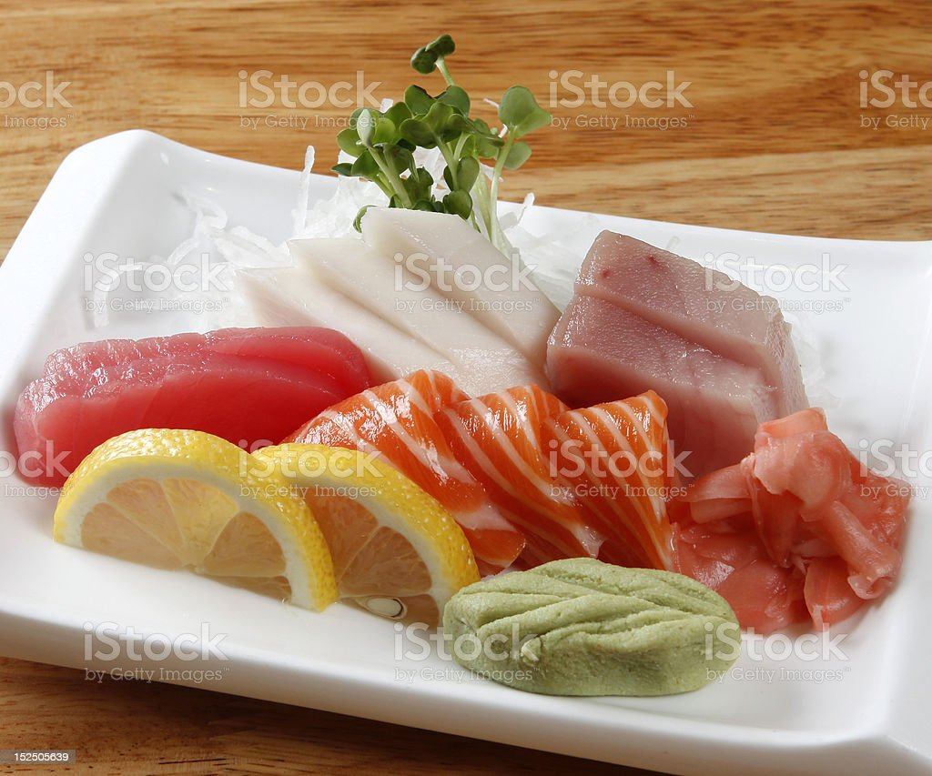 Sashimi combo royalty-free stock photo