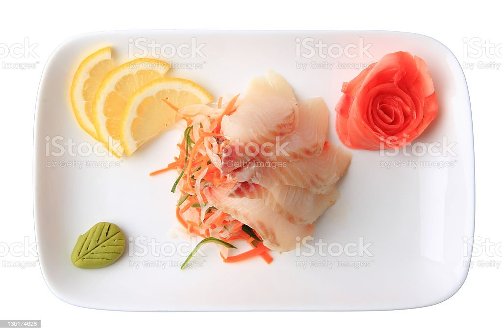 sashimi izumitai royalty-free stock photo