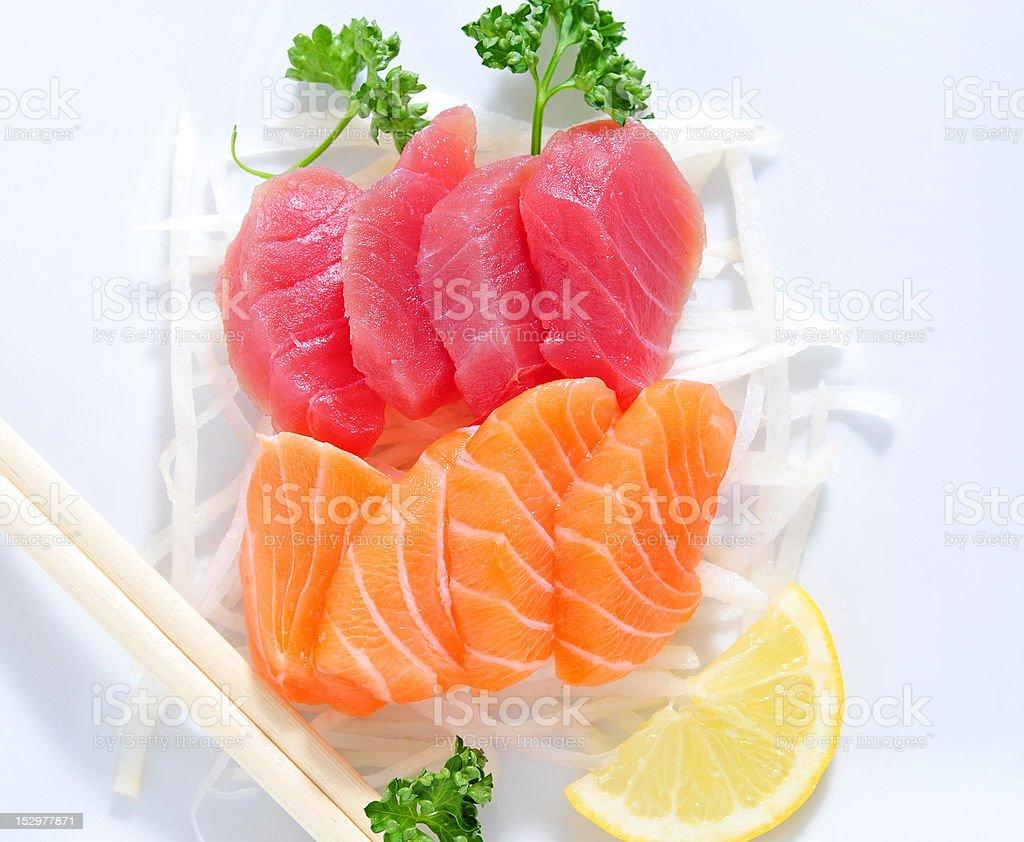 Sashimi stock photo