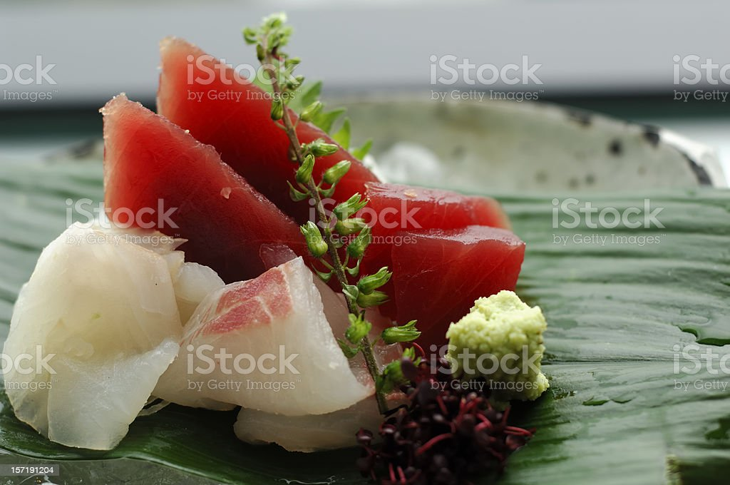 Sashimi stock photo