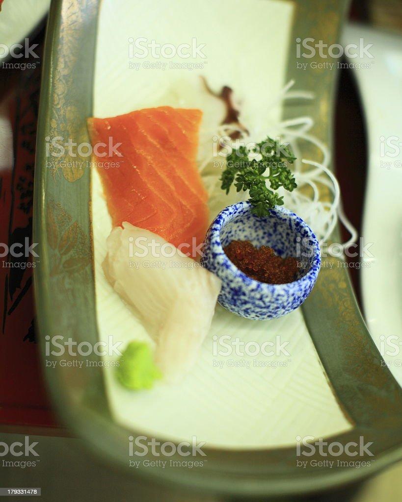 Sashimi royalty-free stock photo