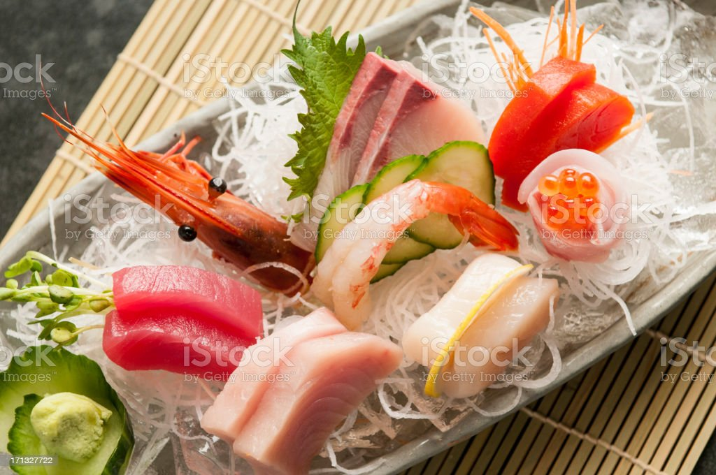 Sashimi Platter stock photo