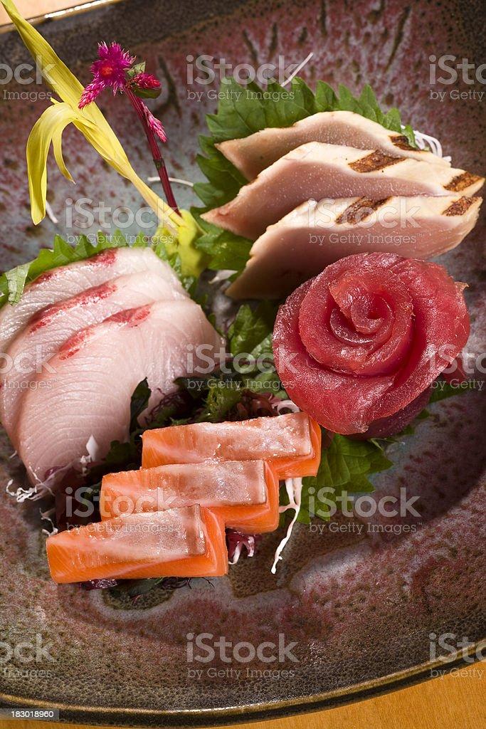 Sashimi Sushi royalty-free stock photo