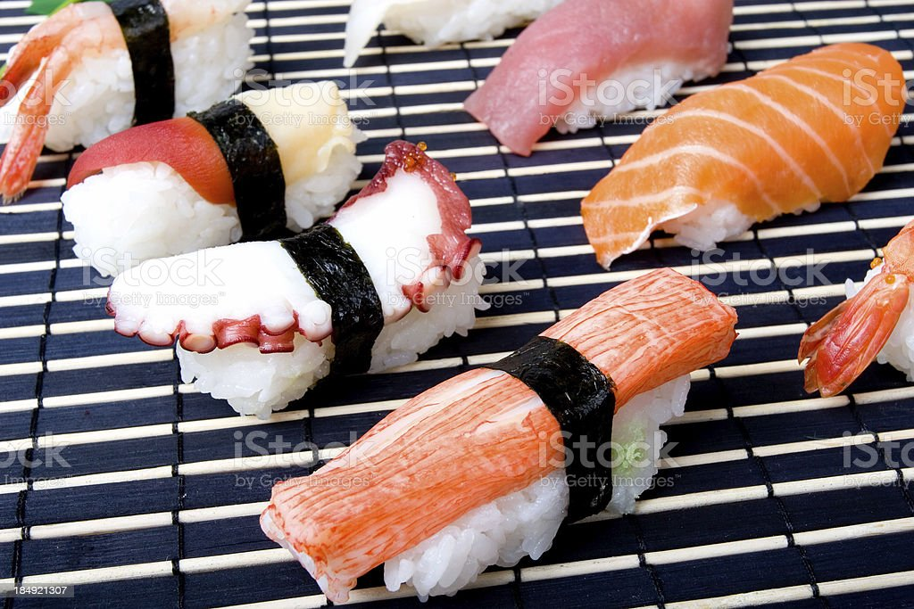 Sashimi Sushi royalty-free stock photo