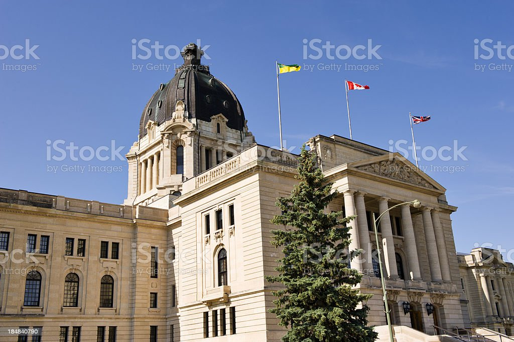 Saskatchewan Capitol royalty-free stock photo