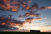 Saskatchewan Grain Storage Bins