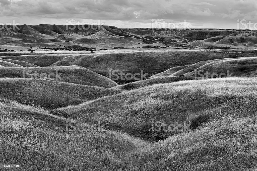 Saskatchewan Landing Provincial Park stock photo
