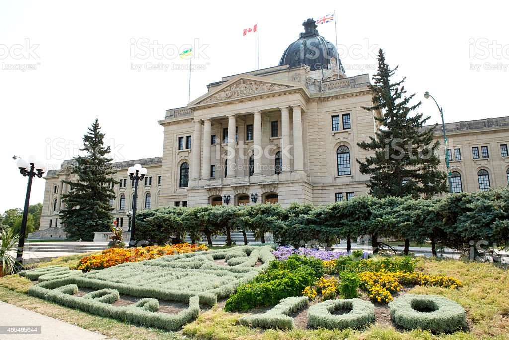 Saskatchewan Legislative Building celebrates 100 years stock photo