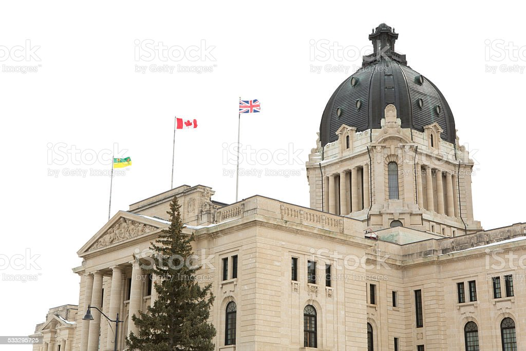 Saskatchewan Legislative Building Dome stock photo