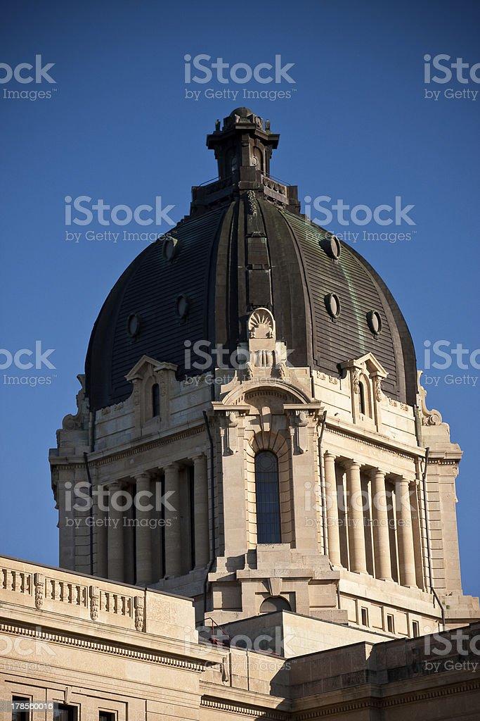 Saskatchewan Legislative Building stock photo
